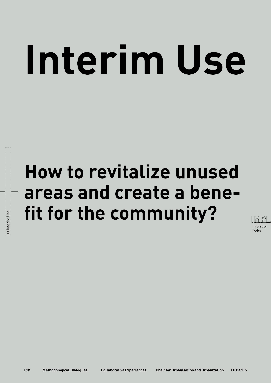 INTERIM USE
