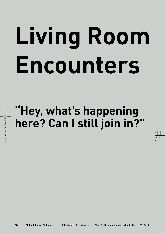 LIVING ROOM ENCOUNTERS